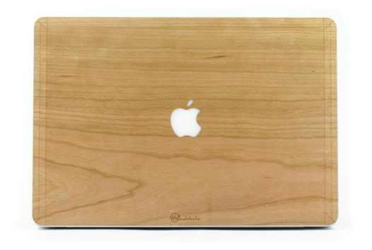 coque bois macbook air 13