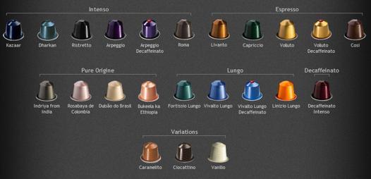 couleur nespresso