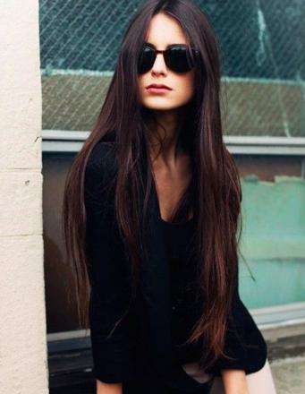 coupe cheveux long brun