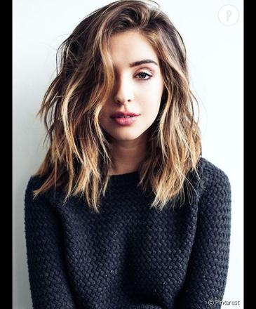 coupe de cheveux carré long
