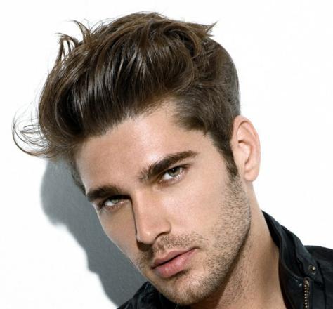 coupe homme cheveux épais