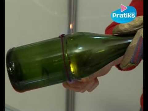 couper le fond d une bouteille en verre