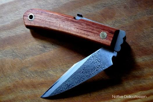 couteau pliant traditionnel japonais