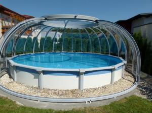 couverture piscine hors sol ronde