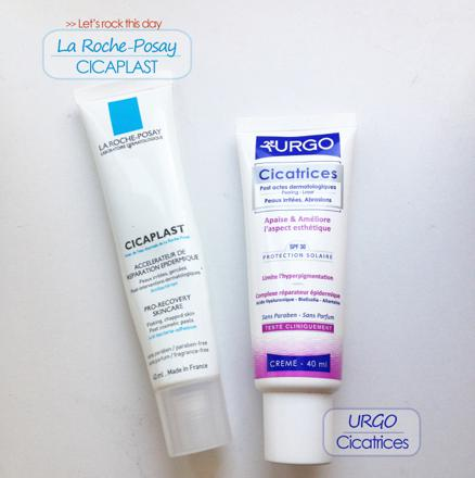 crème cicatrice acné