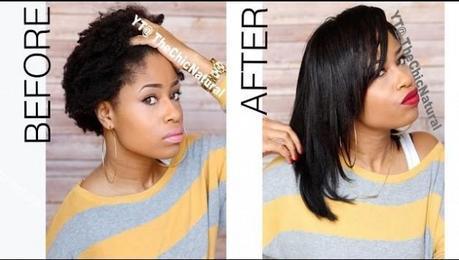 défriser les cheveux naturellement