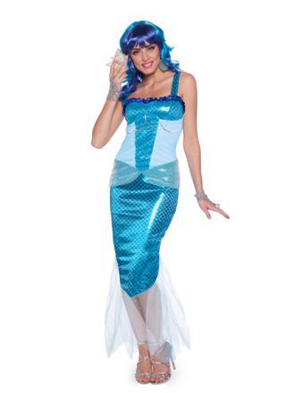 deguisement bleu femme