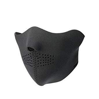 demi masque neoprene airsoft