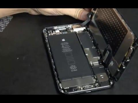 demontage iphone 7