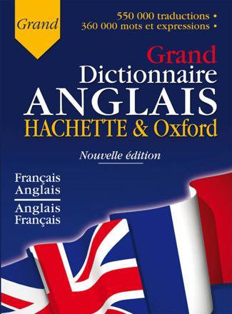 dictionnaire anglais et français