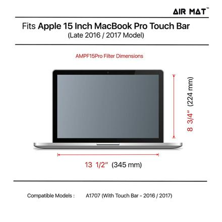 dimension macbook pro 15