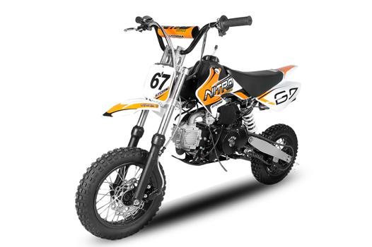 dirt bike automatique