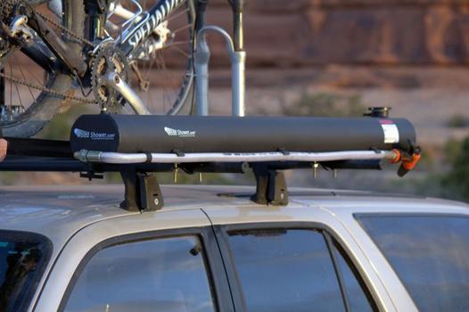 douche solaire voiture