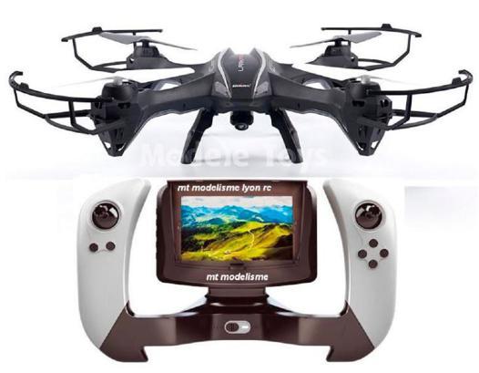 drone avec telecommande ecran