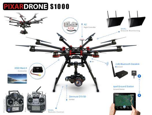 drone longue autonomie