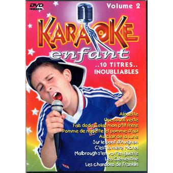 dvd karaoké enfant