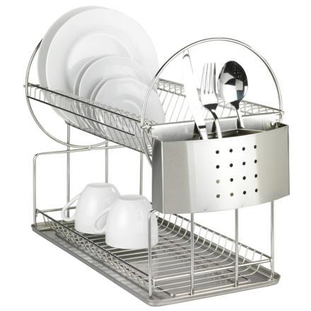 egouttoir vaisselle acier inoxydable