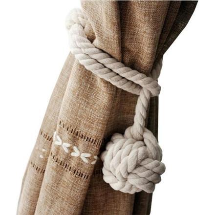 embrasse rideau corde