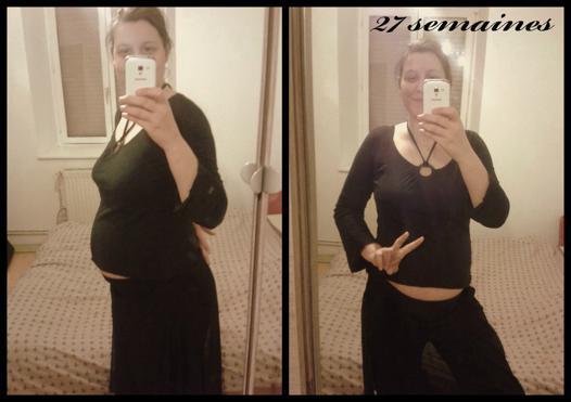 enceinte de 27 semaines