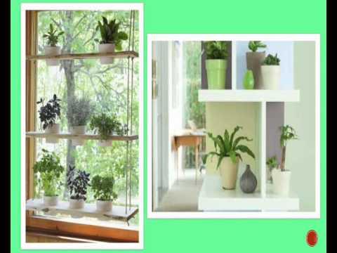 étagère à plantes intérieur