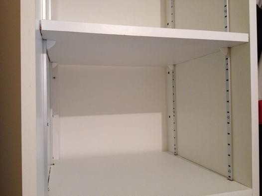 étagères placard modulables