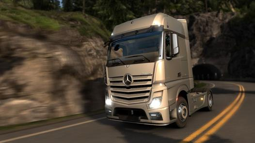 euro truck simulator 3 ps4