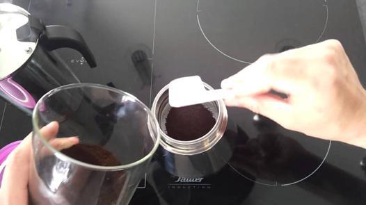 faire café cafetière italienne