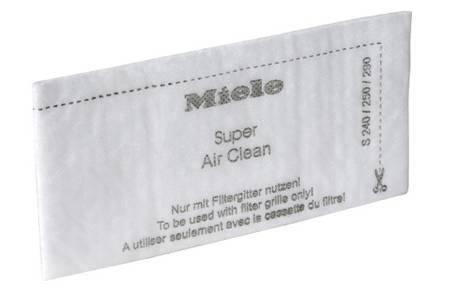 filtre air clean miele