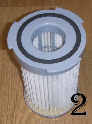 filtre d'aspirateur sans sac