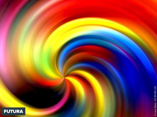 fond multicolore