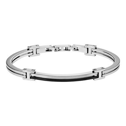 fossil bracelet homme acier