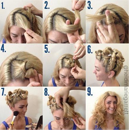 friser cheveux sans fer