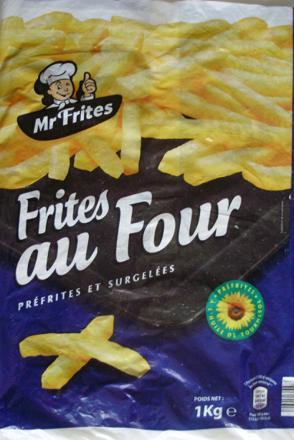 frites au four marque