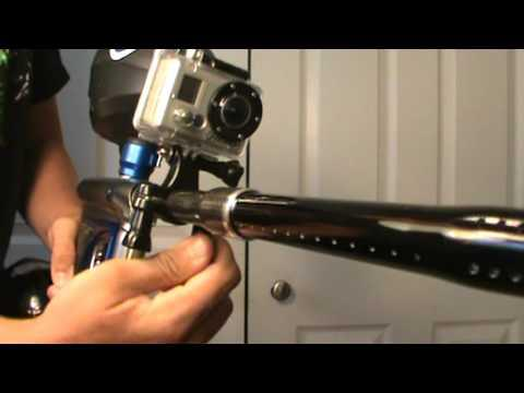 gopro paintball fixation