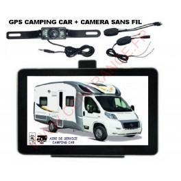 gps camping car camera de recul