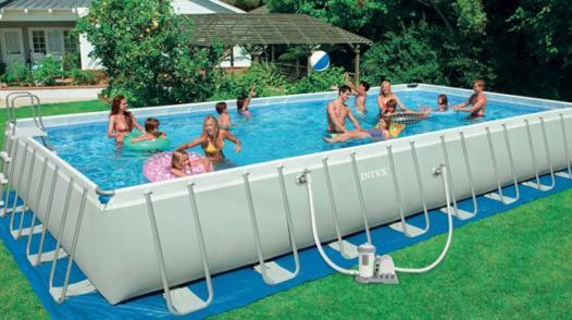 grande piscine tubulaire