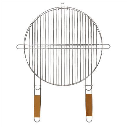 grille de barbecue ronde 50 cm