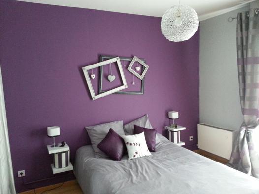 gris et violet