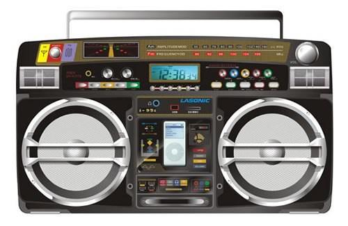 grosse radio portable