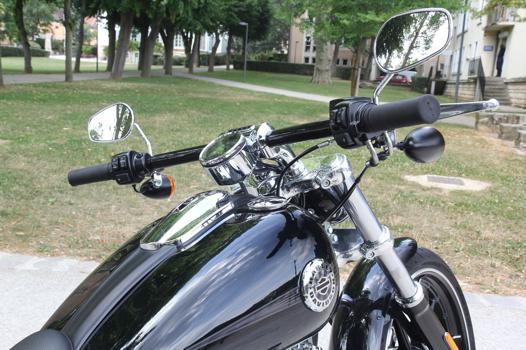 guidon moto harley