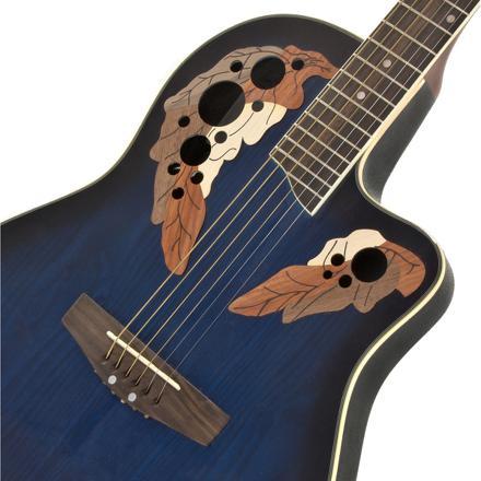 guitare electro acoustique dos rond