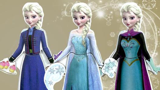habillage reine des neiges
