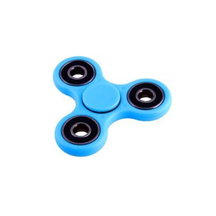 hand spinner bleu clair