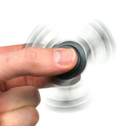 hand spinner stress