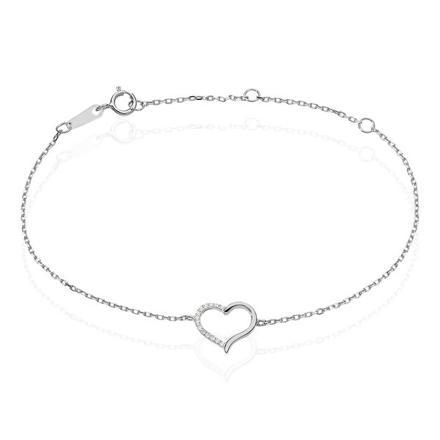 histoire d or bracelet coeur