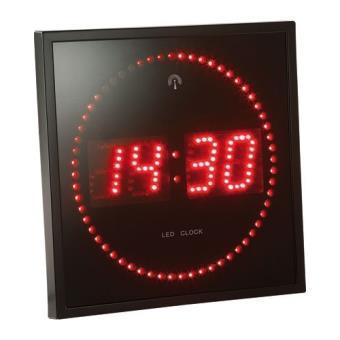 horloge électronique murale