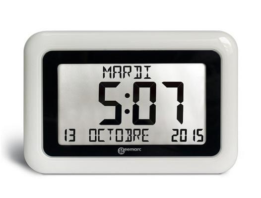 horloge lcd