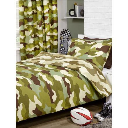 housse de couette camouflage