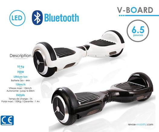 hoverboard poids