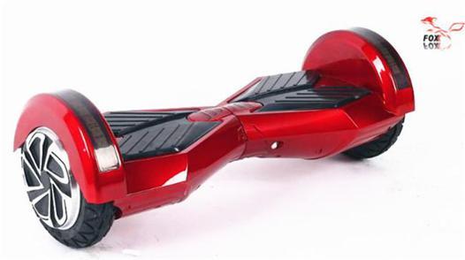hoverboard rouge et noir